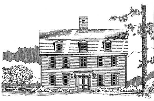 Springfield Gambrel front elevation
