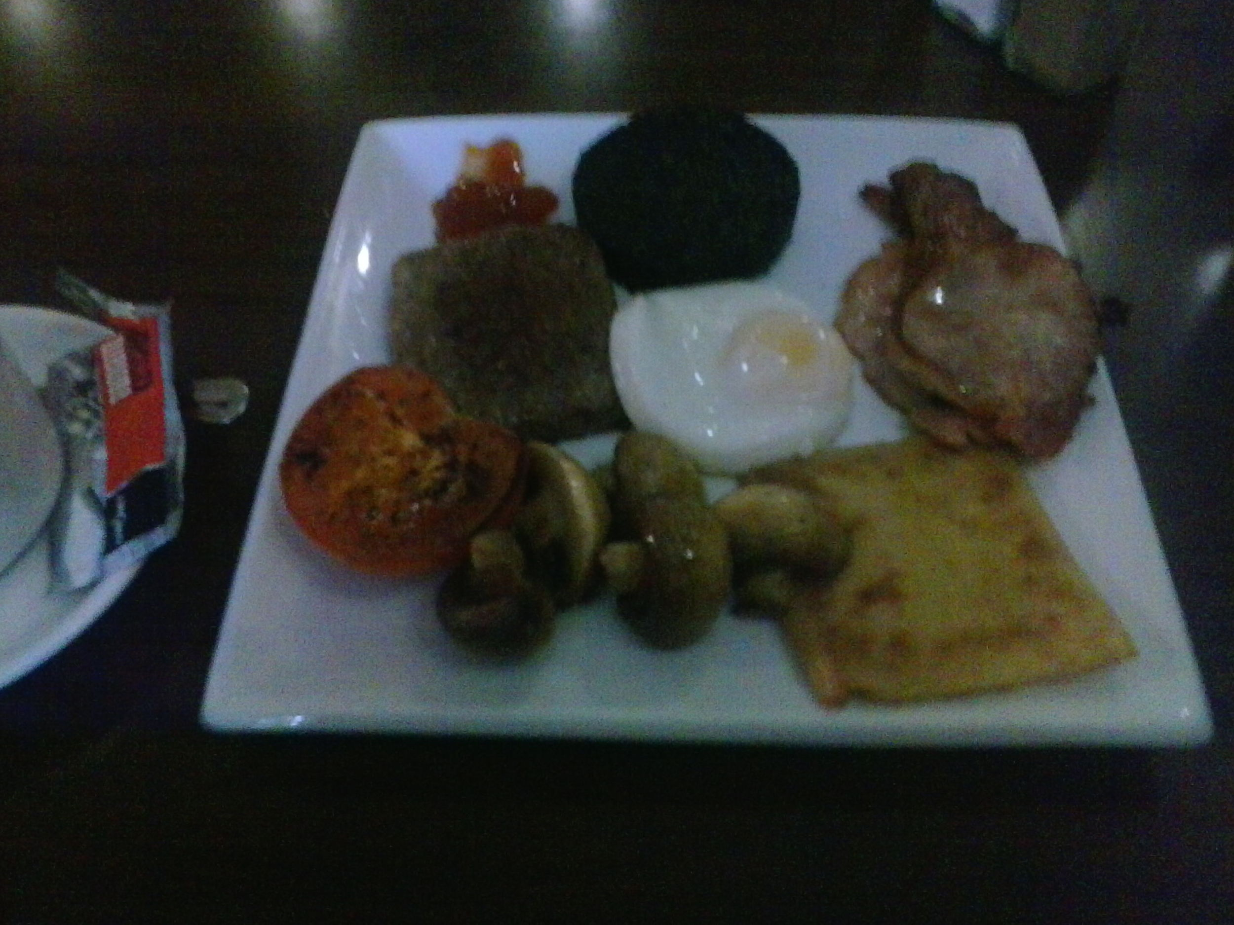A well deserved all day Scottish breakfast after getting back to Balloch