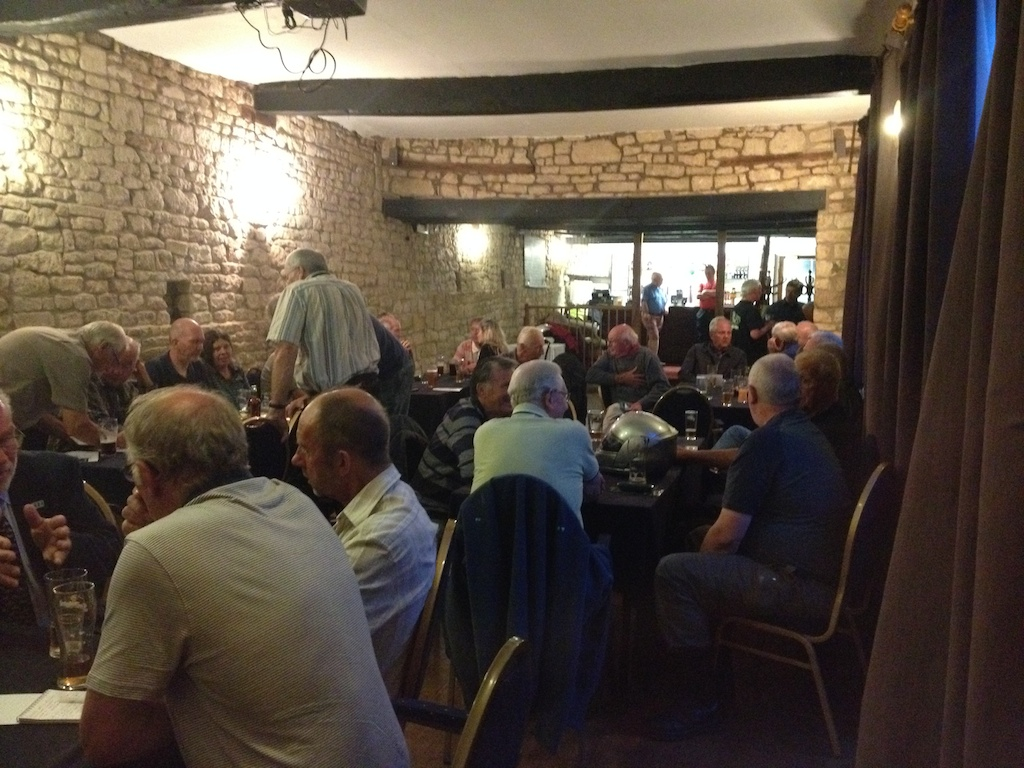 First Tuesday of every month at the Lygon Arms