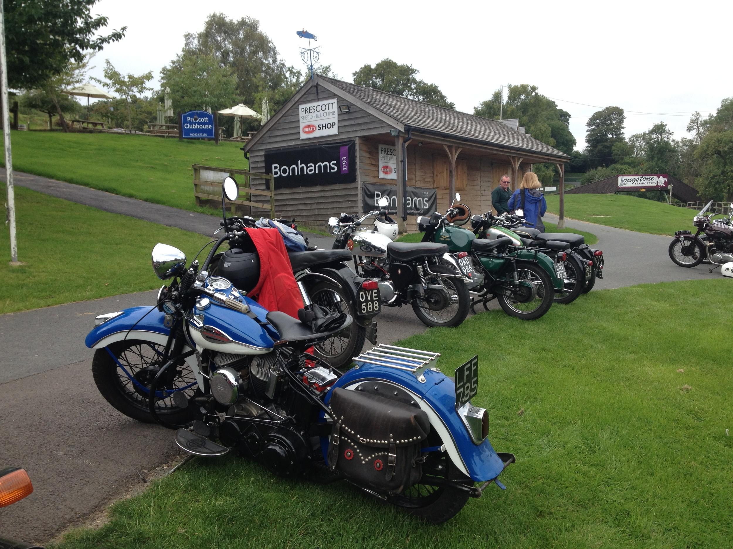 We stop off at the Prescott Hill Climb Breakfast Club on the 2014 River Run