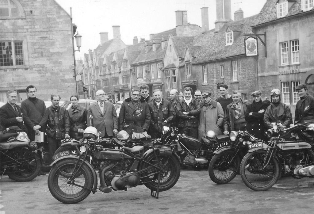 A fabulous image from those first days of the Club - Some of these riders are still active club members too..