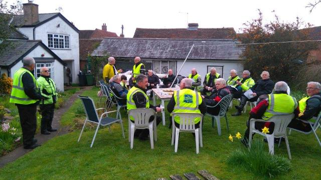 Time for Tea and Medals after another successful Wrinkley Run on 14th April 2016