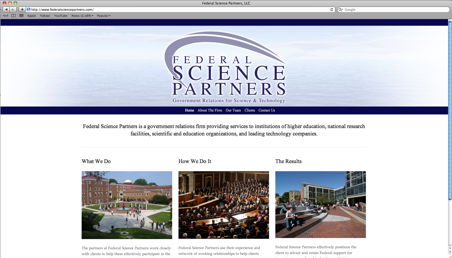 Visit Page:  Federal Science Partners