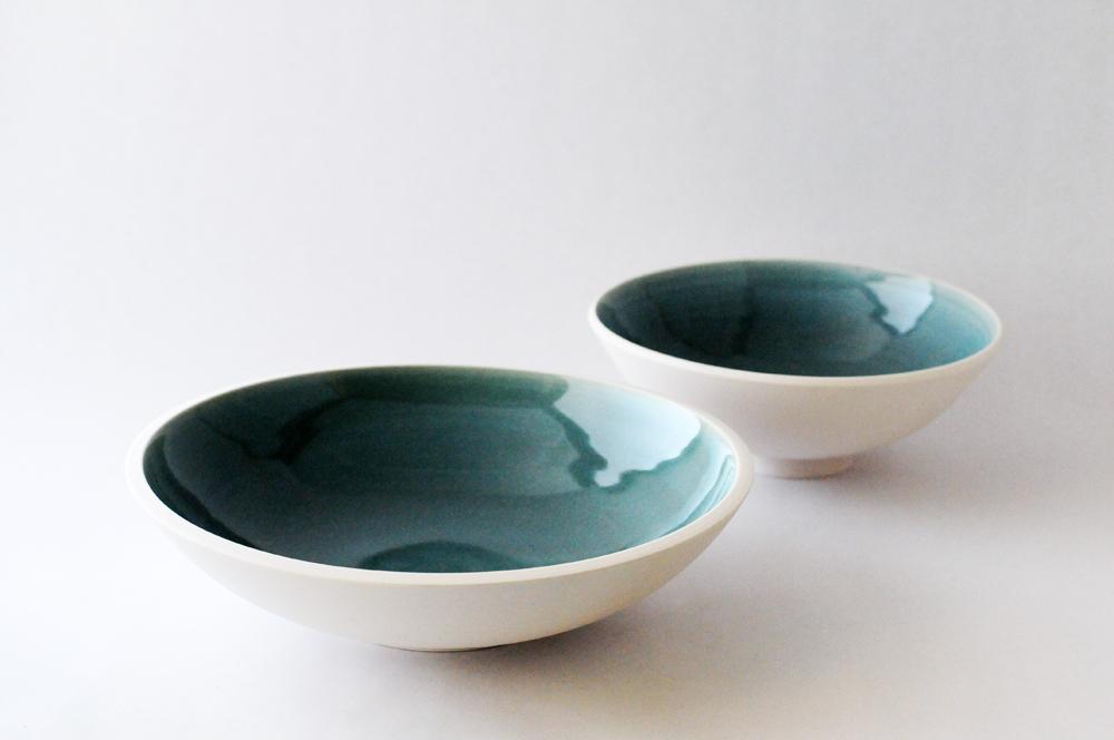 porcelain blue glossy bowls szm2.jpg