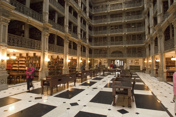 George Peabody Library, Johns Hopkins University