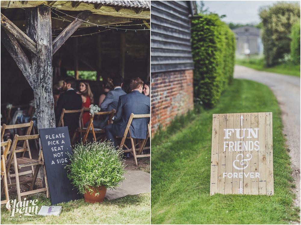 Creative, rustic North Hidden Farm barn wedding in Hungerford Berkshire_0072.jpg