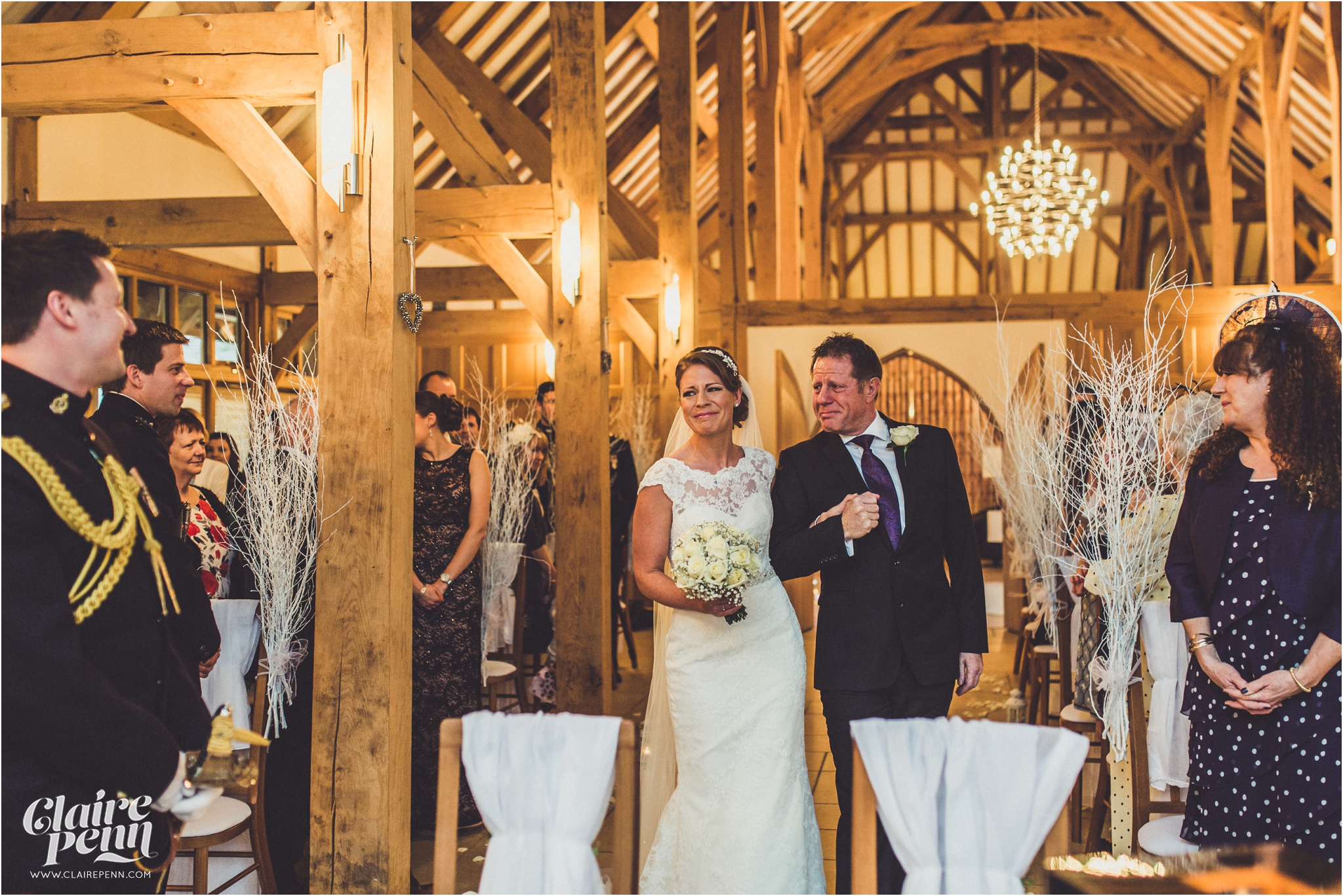 Rivervale Barn Christmas wedding Berkshire_0025.jpg