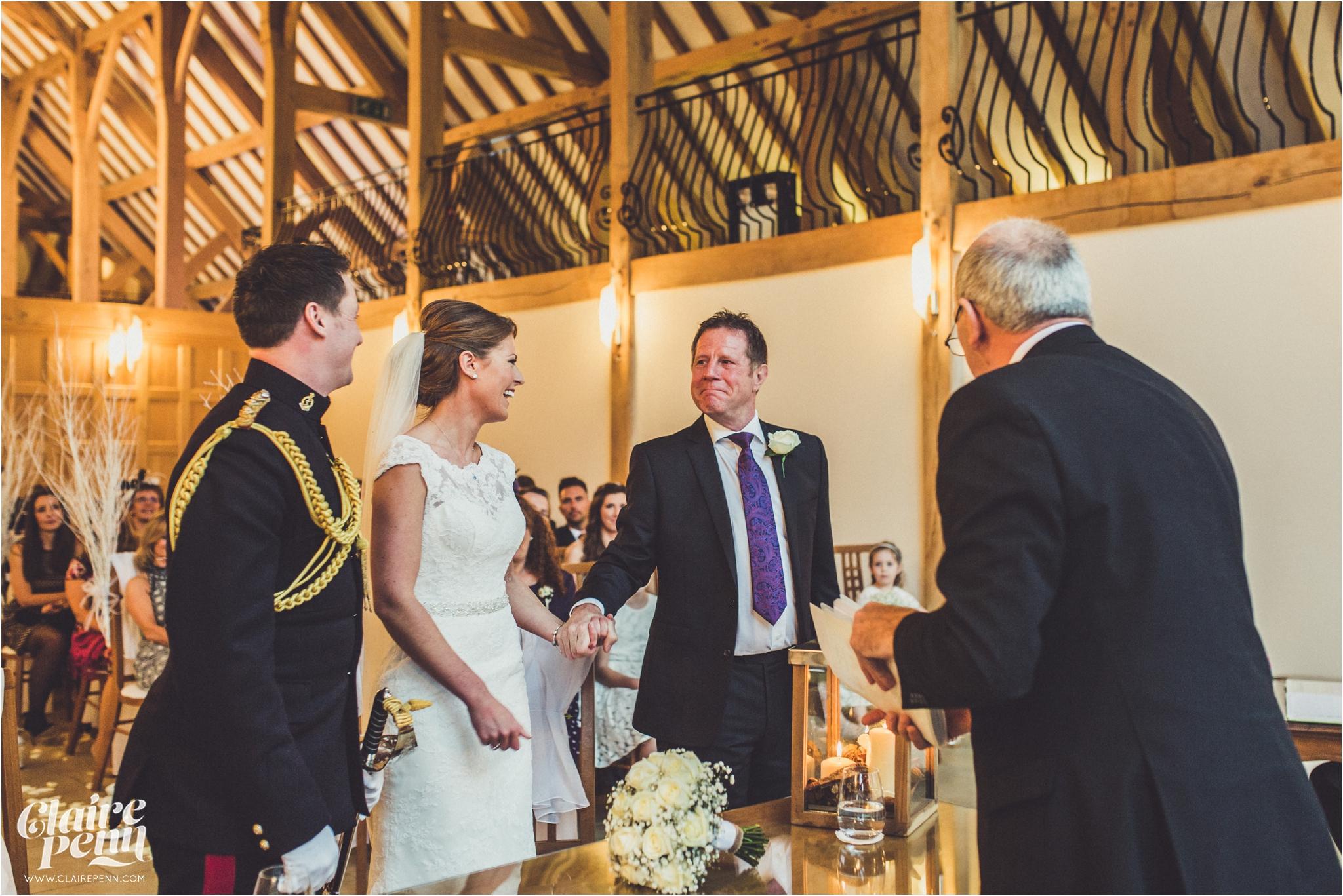 Rivervale Barn Christmas wedding Berkshire_0029.jpg