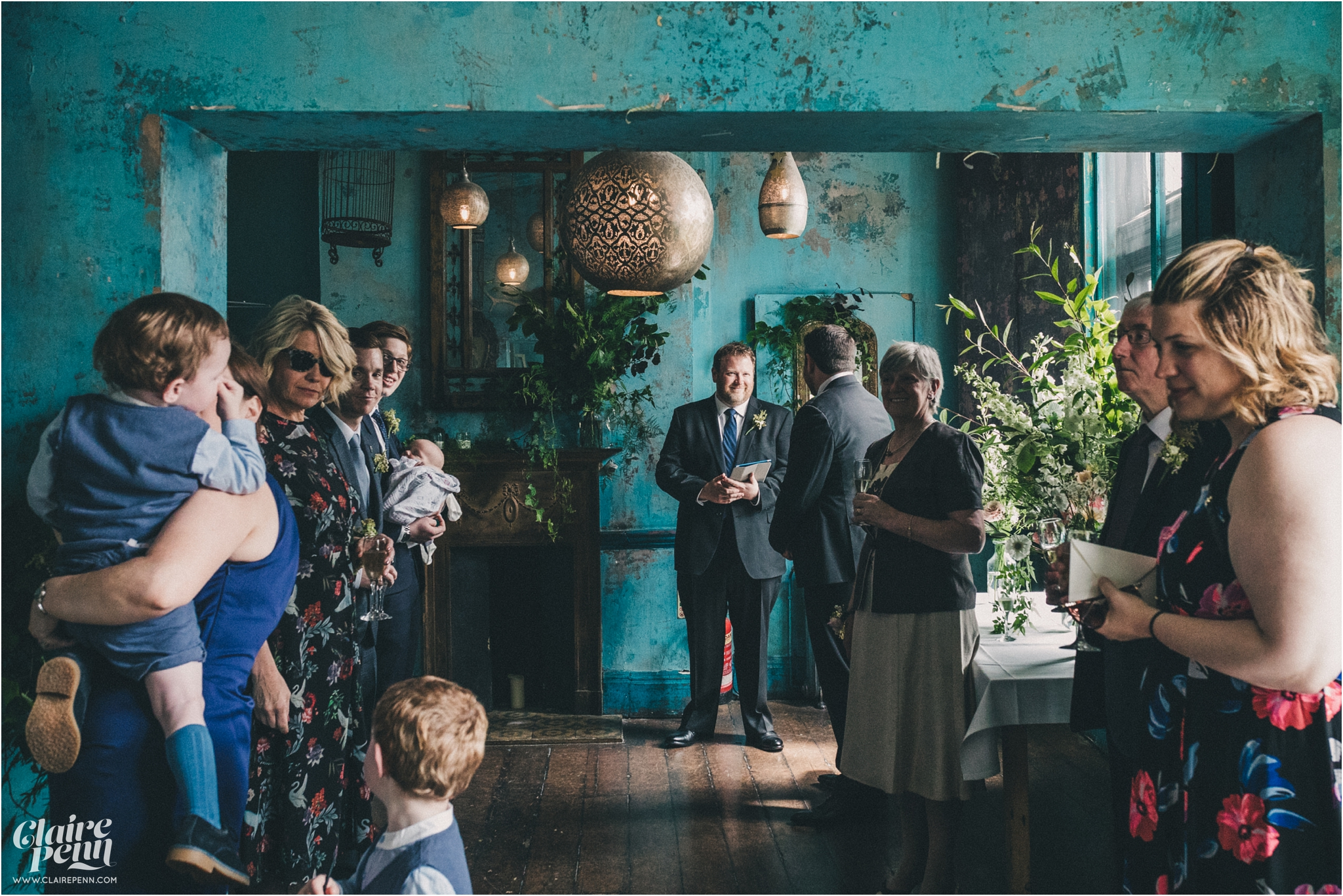 Paradise by way of Kensall Green London pub intimate wedding_0016.jpg