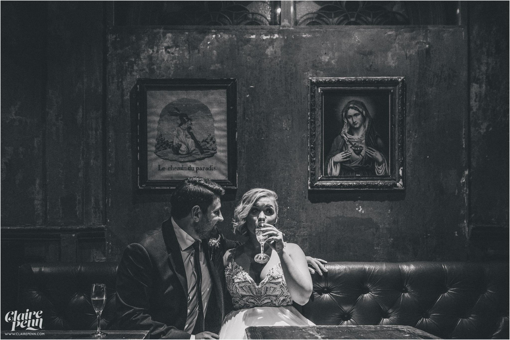 Paradise by way of Kensall Green London pub intimate wedding_0036.jpg