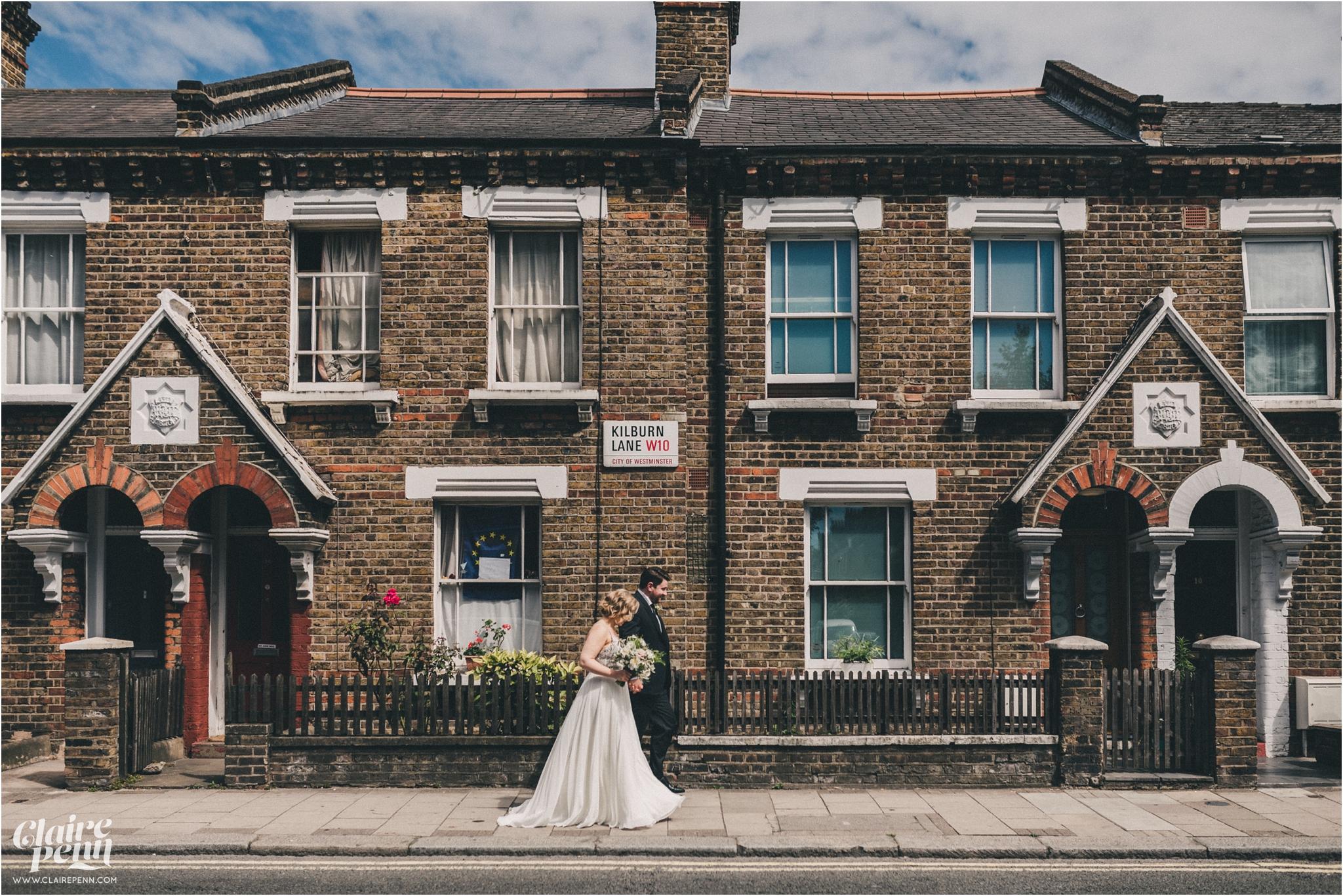 Paradise by way of Kensall Green London pub intimate wedding_0055.jpg