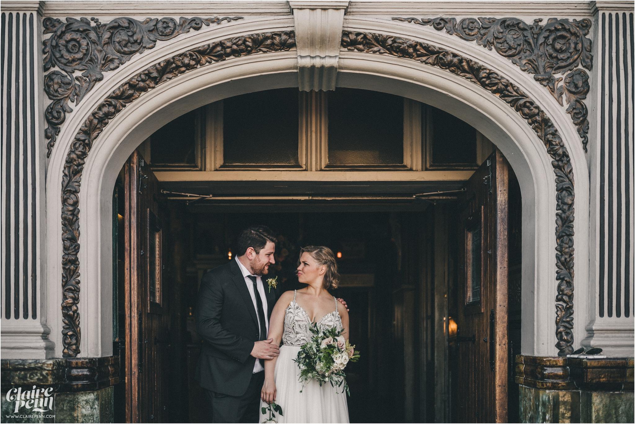 Paradise by way of Kensall Green London pub intimate wedding_0059.jpg