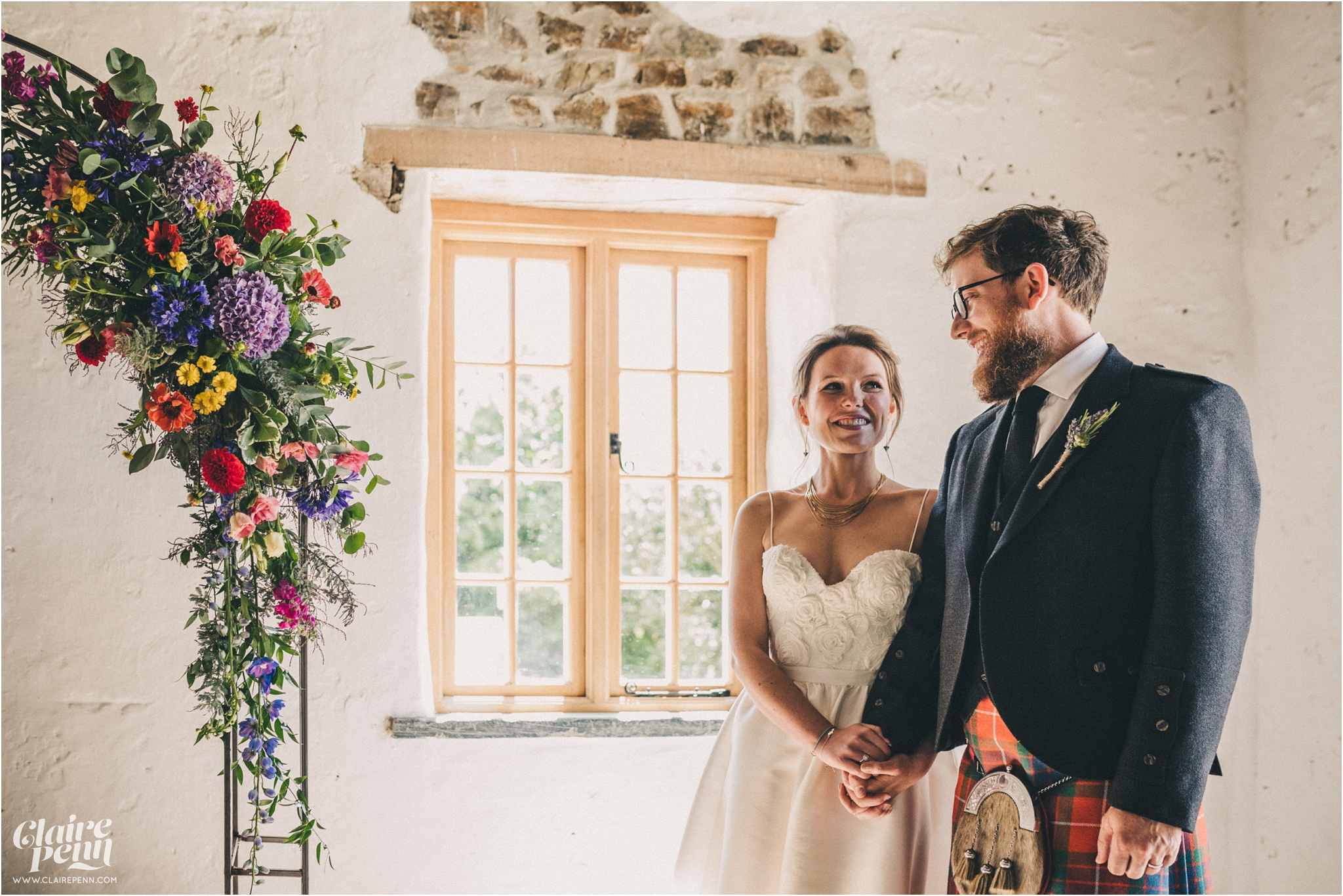 Launcells Barton barn wedding Launceston Bude Cornwall_0029.jpg