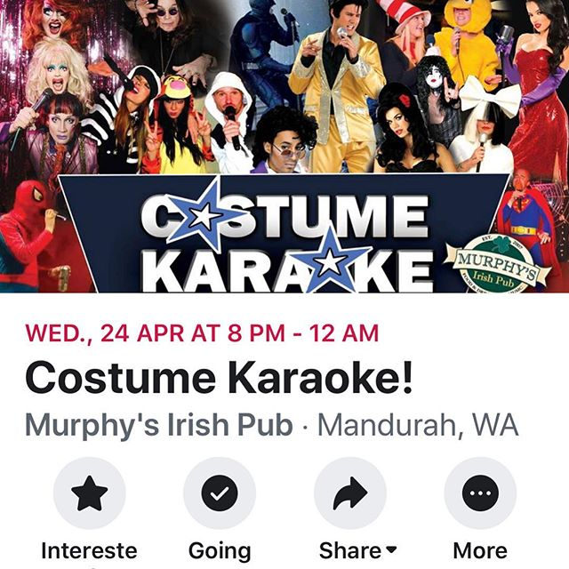 Omggggg yayayaaya  Got a voice? Got a Cossie? Then get to the pub!! Winner will be grinners 👌 #hocuspocusccc #costumeparty #costumesinging #murphysirishpub #partytime #mustgrabacossie