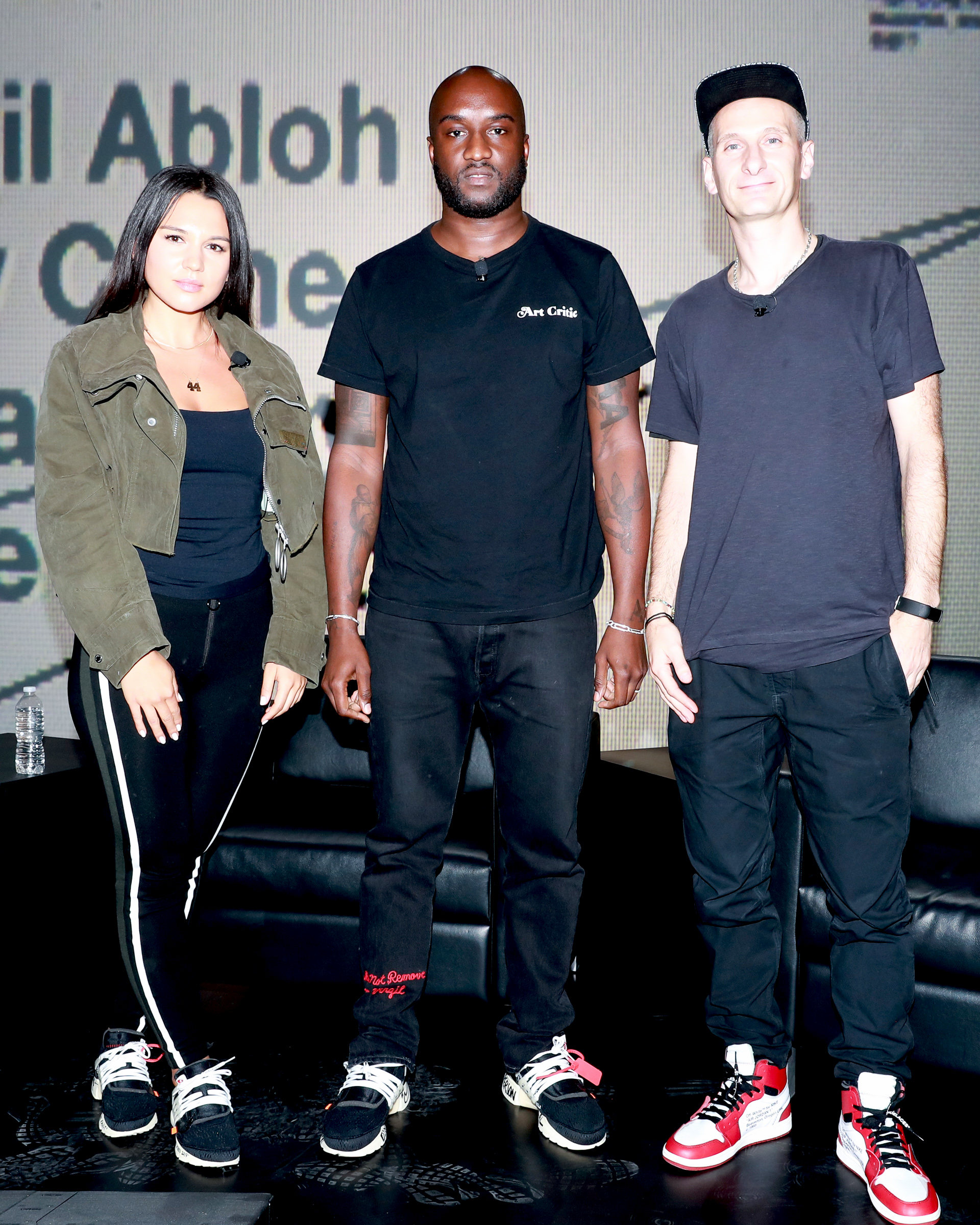 VIRGIL ABLOH + ANDY CAINE - Nike