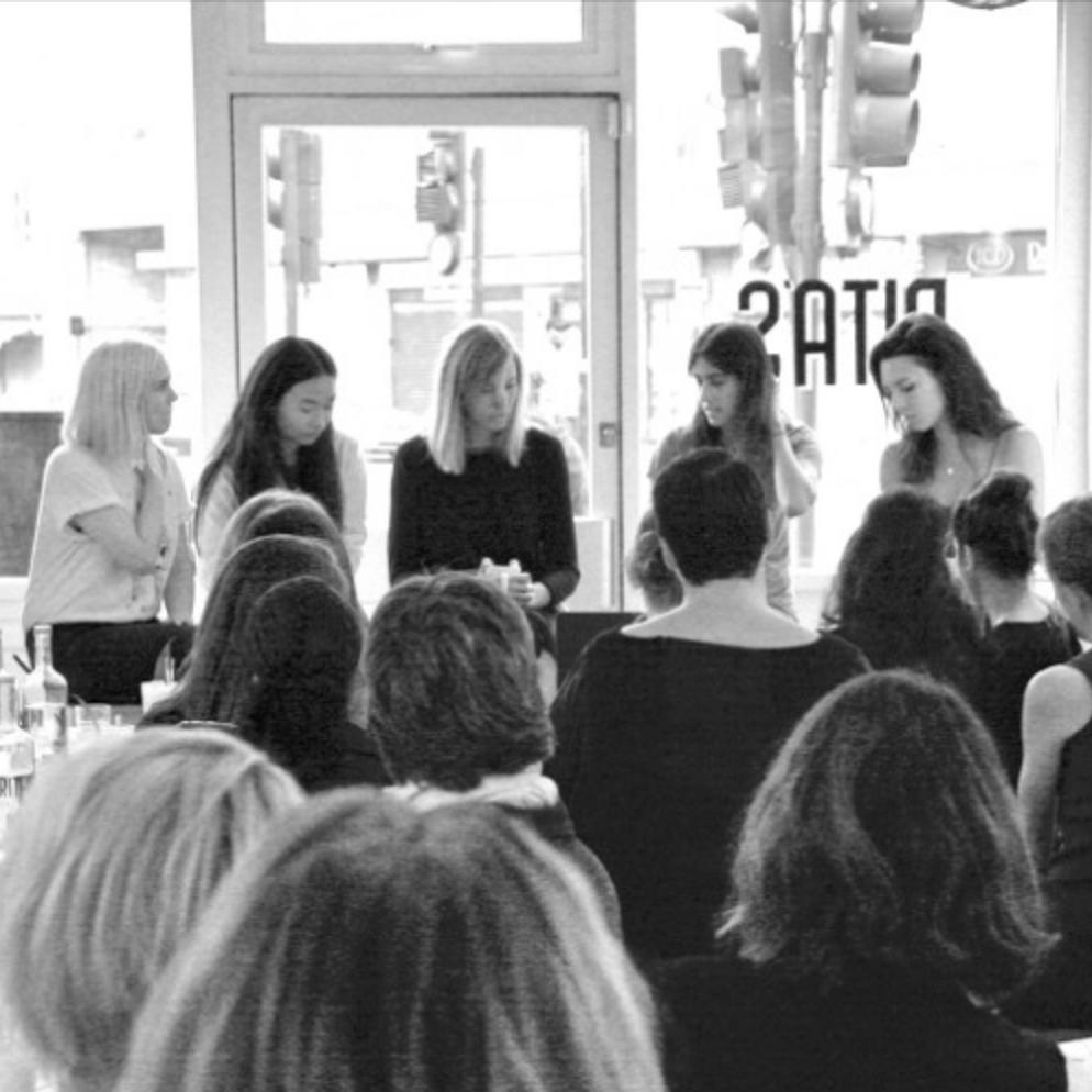 MISSY FLYNN + CHI SAN WAN + NATALI STAJCIC +FREDDIE JANSSen - The WW Club @ Rita's:How To Get STarted in Food and Drink LONDON
