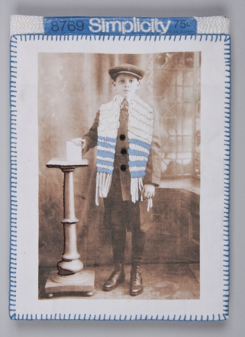 Lew Ritter at his Bar Mitzvah. Circa 1920.