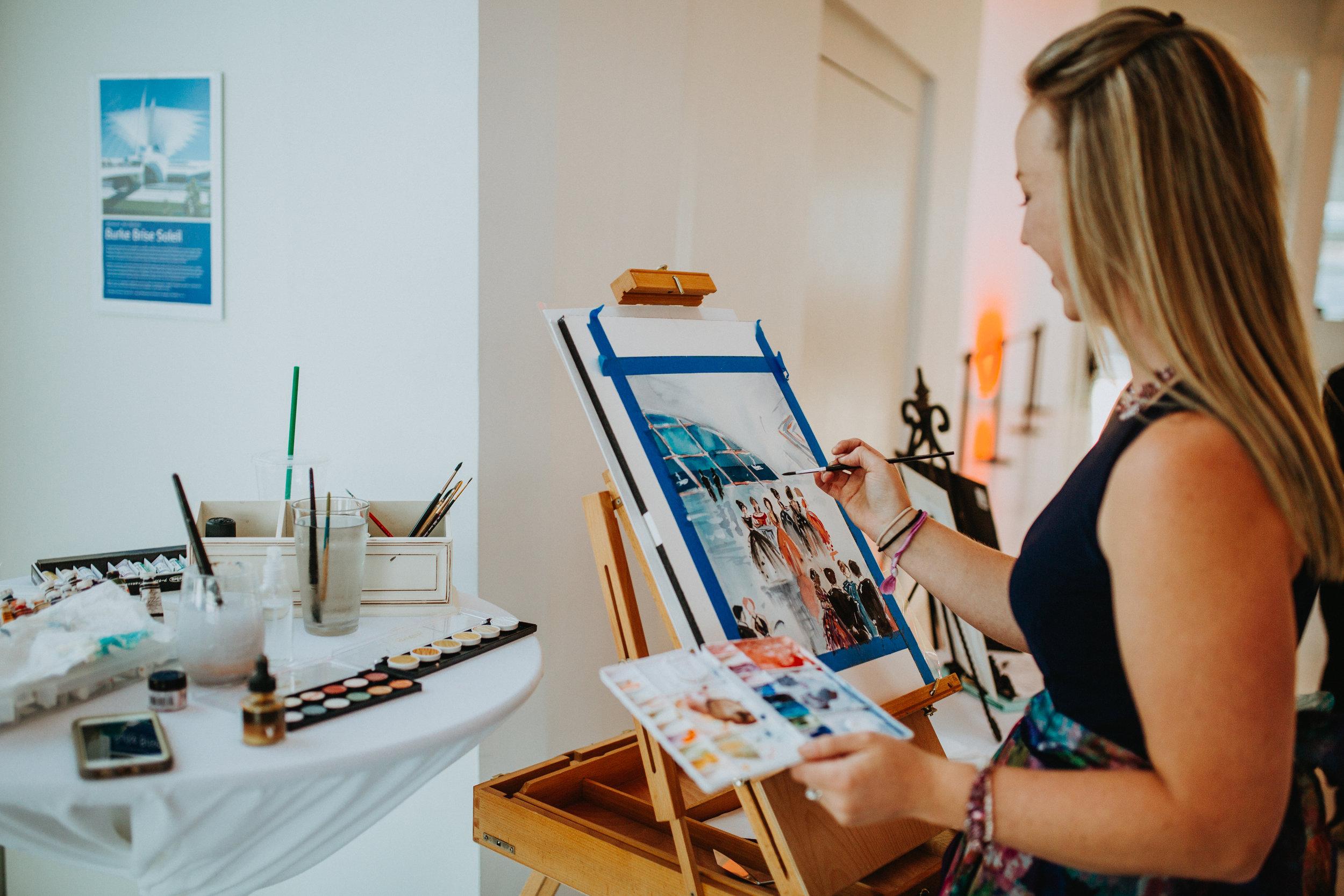 Katie Geis- Midwest Event Artist