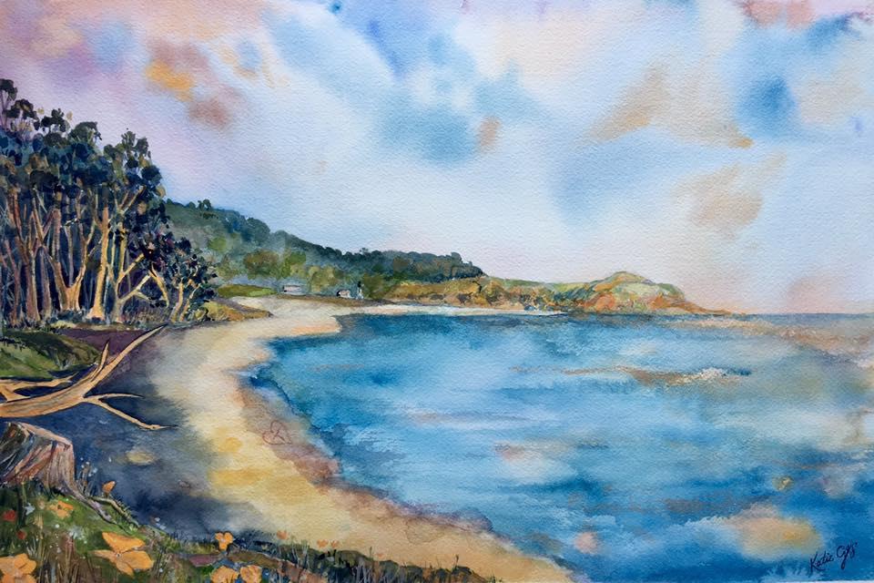 Monestary Beach - Katie Geis