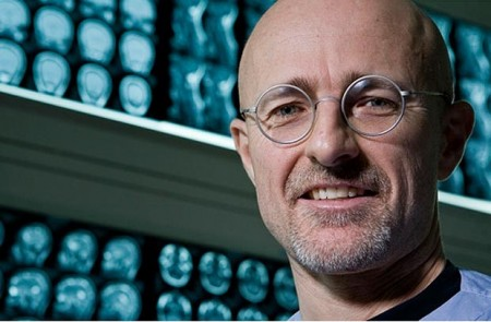 """A picture of Dr. Sergio Canavero, also known as """"Dr. Frankenstein""""."""