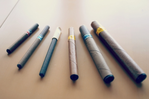 The effects of cigarillos (pictured above) and other new tobacco products on PCL have not been extensively studied until now. Photo credit: TBEC Review, Wikimedia Commons.