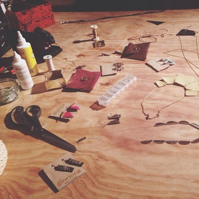 Werkzeuge der letzten Schmuckwerkstatt #diy #diywerkstatt #jewelry #schmuck #creativity #basteln