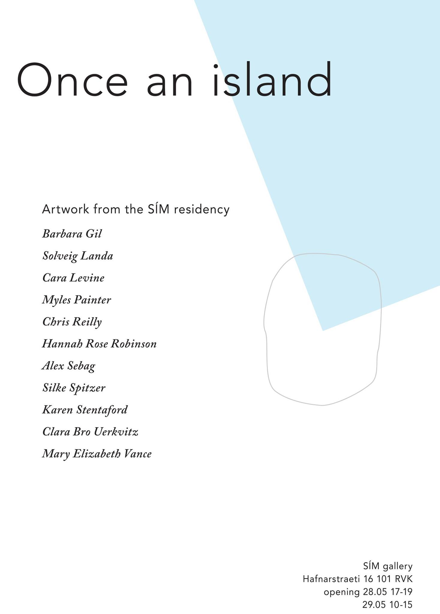 Once A Cloud Poster