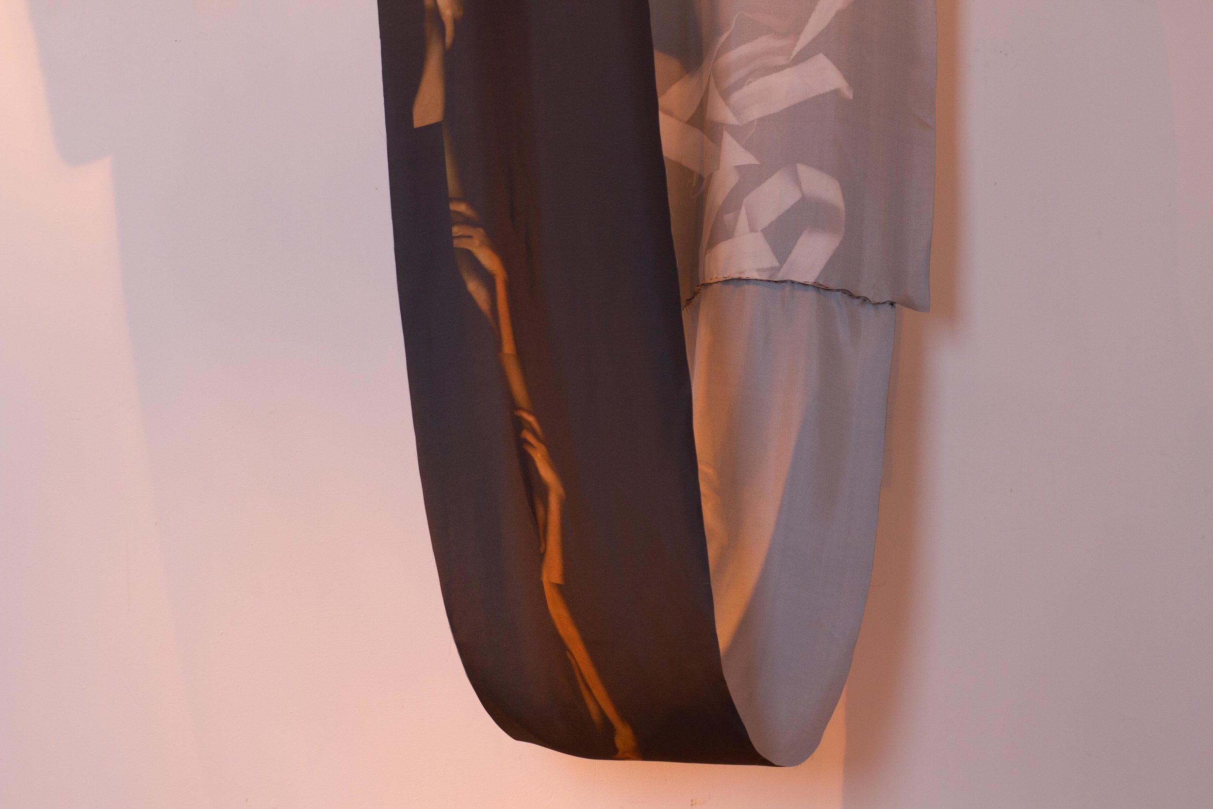 Untitled, Loop , silk, detail