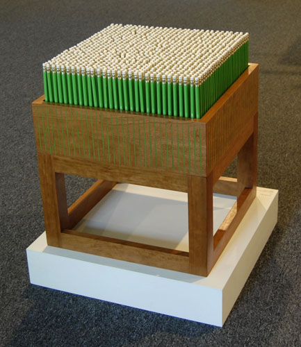 hay field stool
