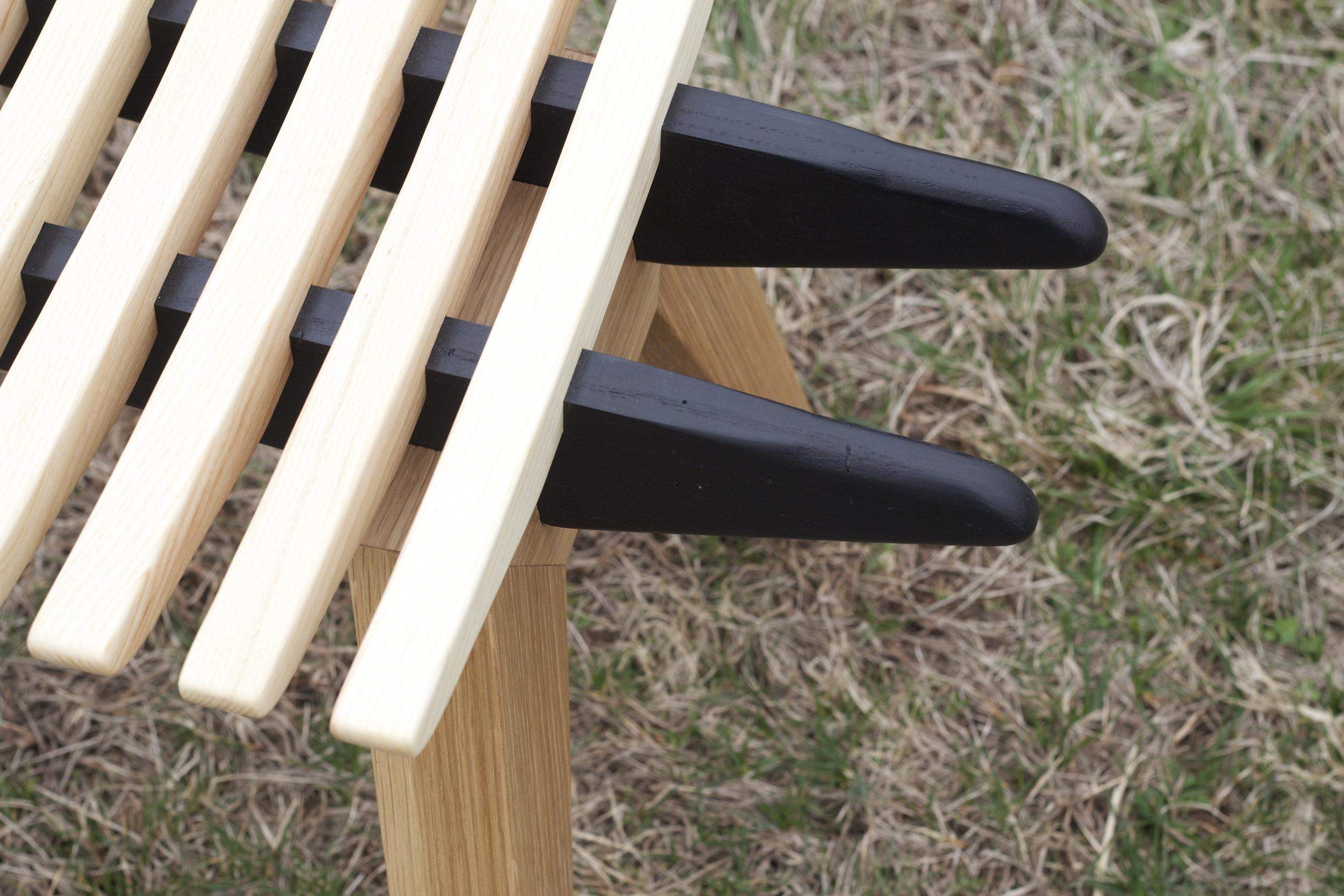 Rib Bench - detail