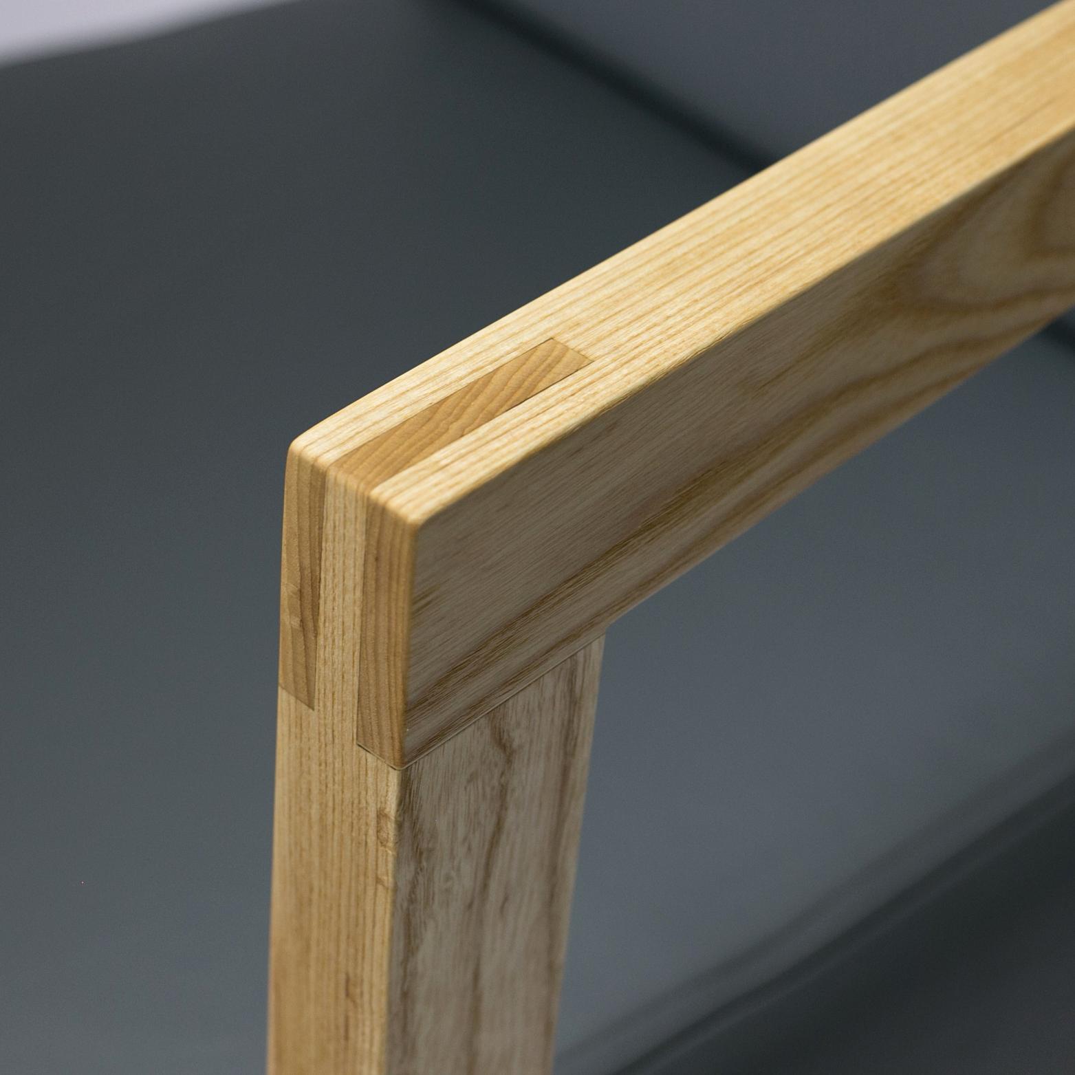 chair 222 - arm detail