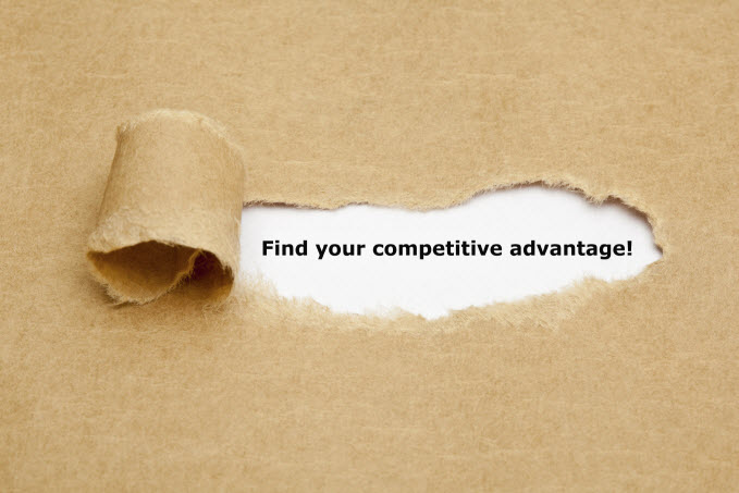find your competitive advantage and get your brand noticed