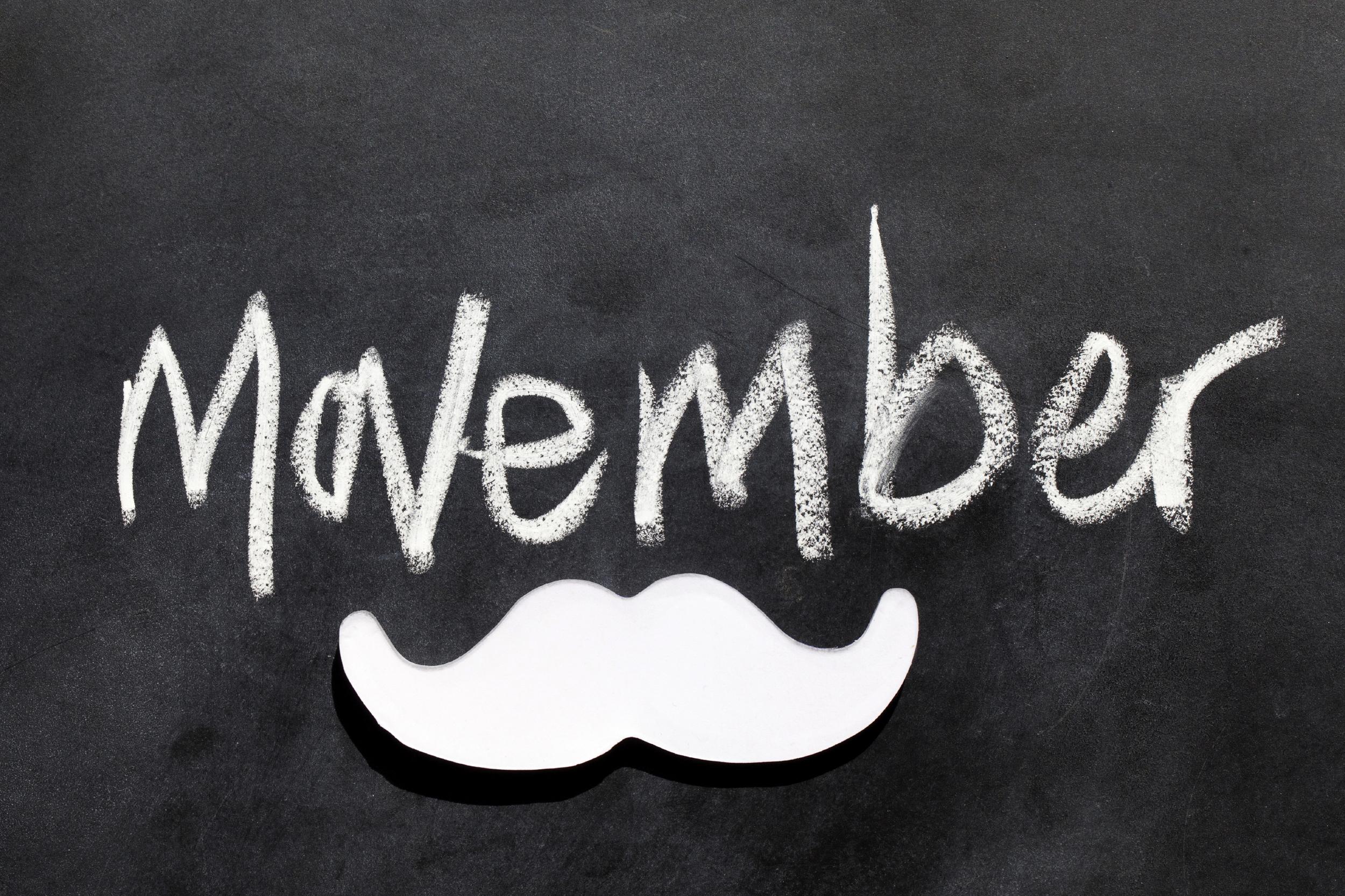 Movember graphic
