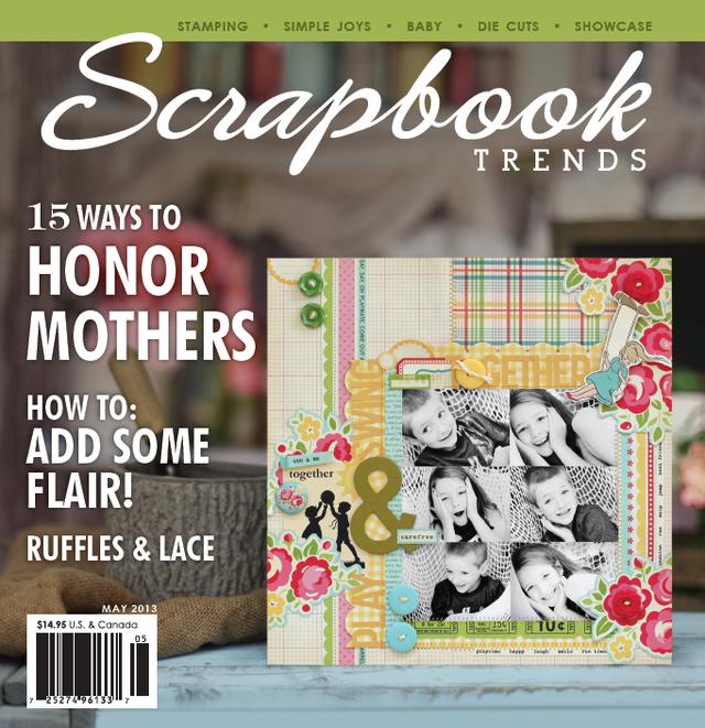 Scrapbook Trends | May 2013