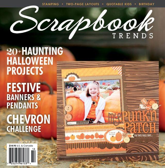 Scrapbook Trends | October 2012