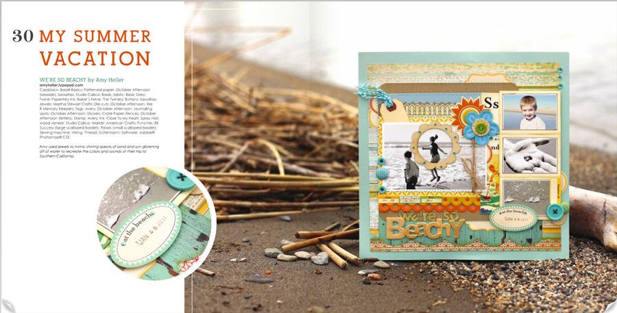 Scrapbook Trends Magazine | July 2011