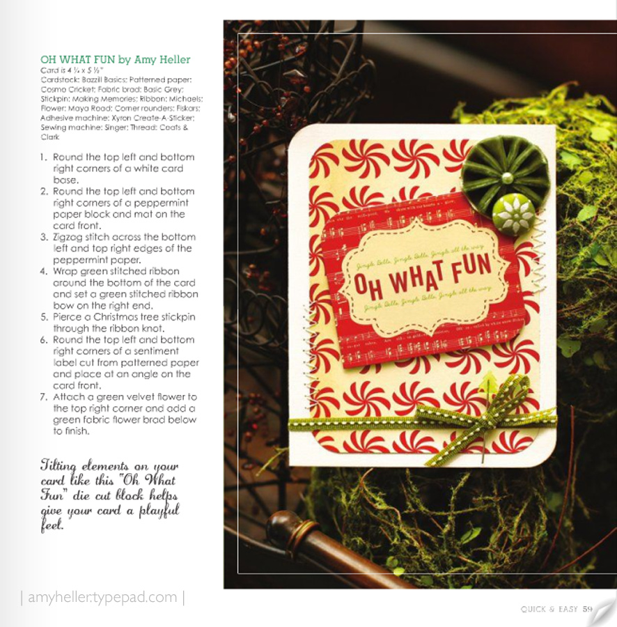CREATE: Christmas Cards | December 2010