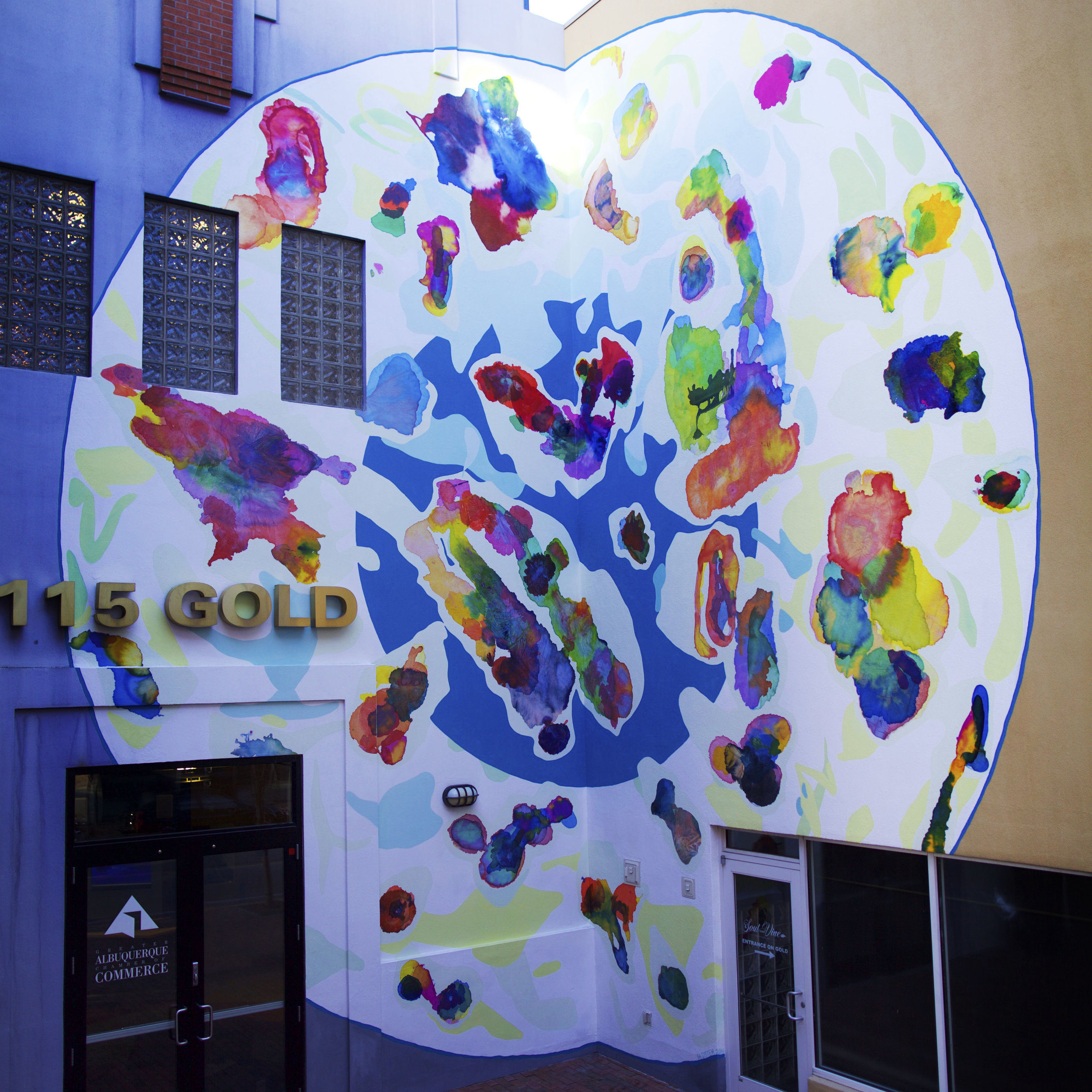 Colour Sphere, Albuquerque Public Art and 516 Arts, 2016