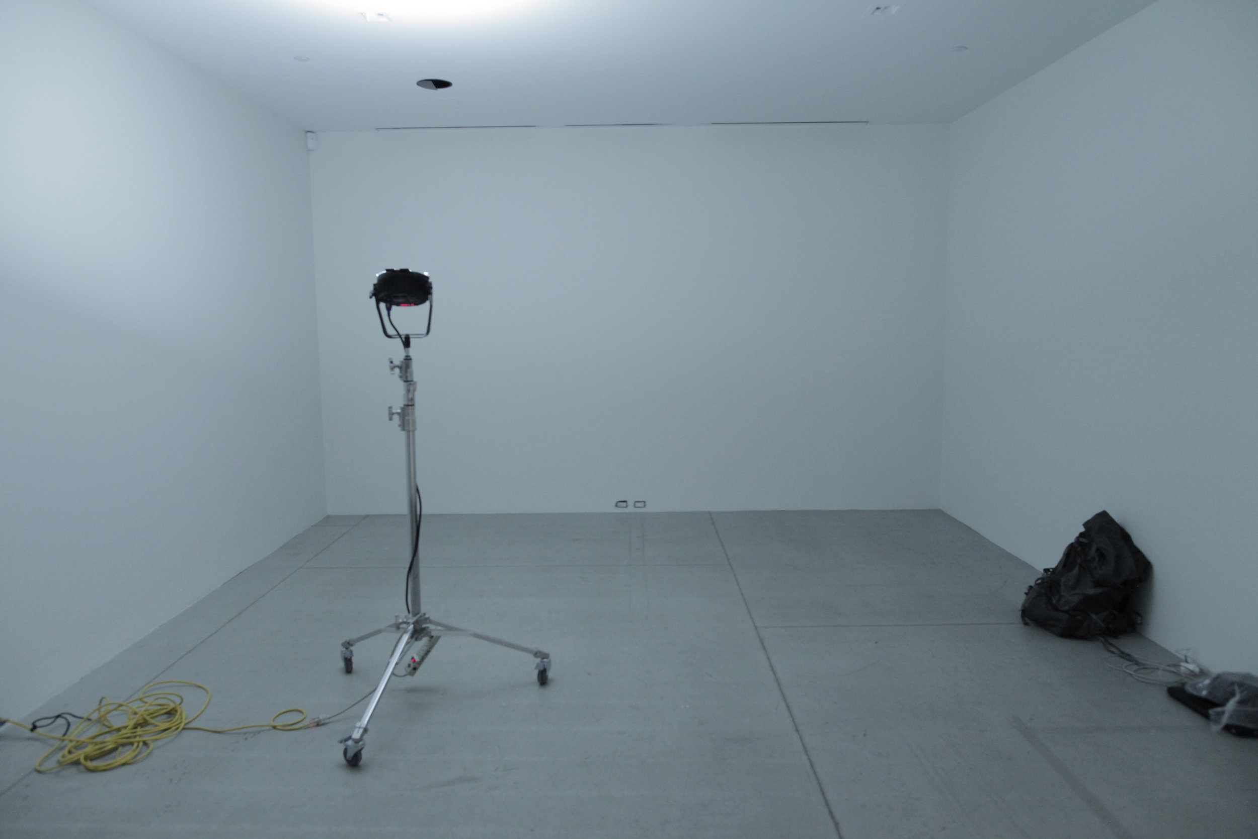 Installation space. AGO 4th floor.