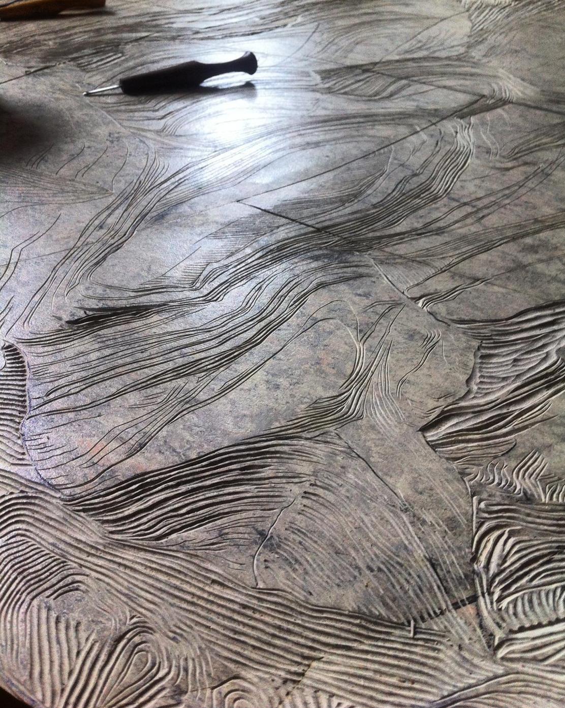 Lino detail