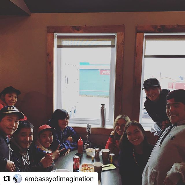"#Repost @embassyofimagination with @get_repost ・・・ A reunion for this fine #kinngait crew in Iqaluit for the opening of ""Uvanga and imagine if,"" Sunday August 12, at 8pm! Come say hi to the artists and see their prints, cyanotypes and drawings at the Legislative Assembly. #embassyofimagination @sarahmcnairlandry ...get people out to celebrate these youth, people of Iqaluit! @mathewnuqingaq @laakkuluk @anubhamomin @tomfordculinary @nunatsiaq_news @nunatsiavutart @optiqueverve @iqaluitactionlab @iqaluitskateboarding @findtruen"