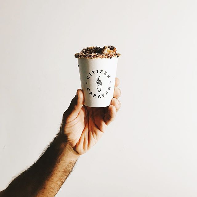 It's S'mores Hot Cocoa season. Marshmallows  delicious hot cocoa and graham cracker crumble.  #falldrinks #autumn #hotcocoa #smores #mobilecoffeebar #mobilecaravan #nyc #holidays