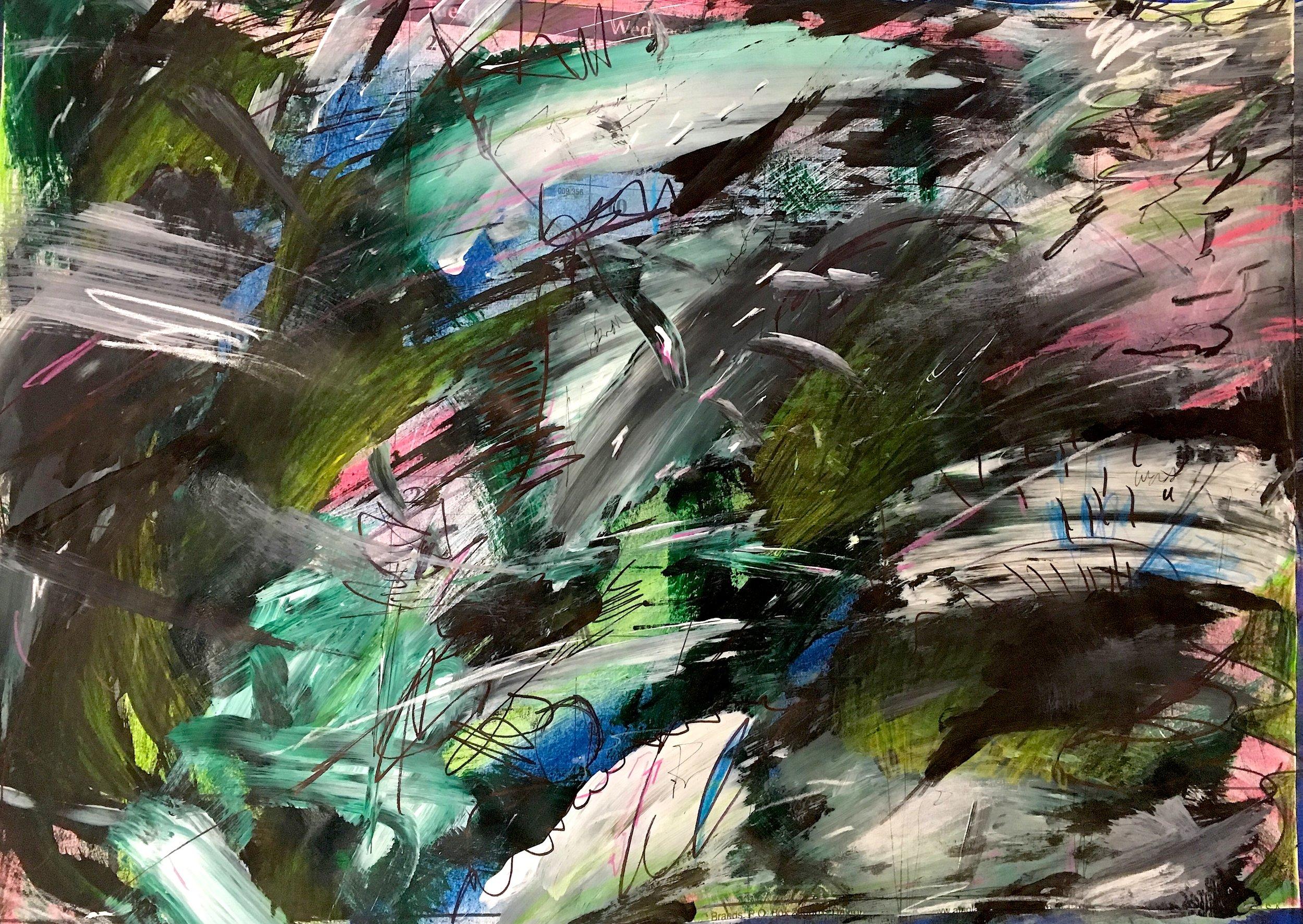 I Want to Paint Like Dove (January I)