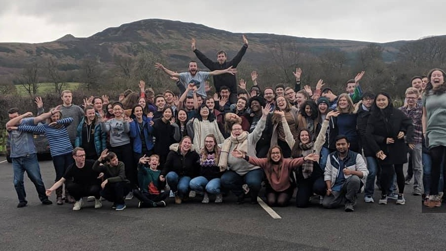 Our students and 20s weekend away, 2019