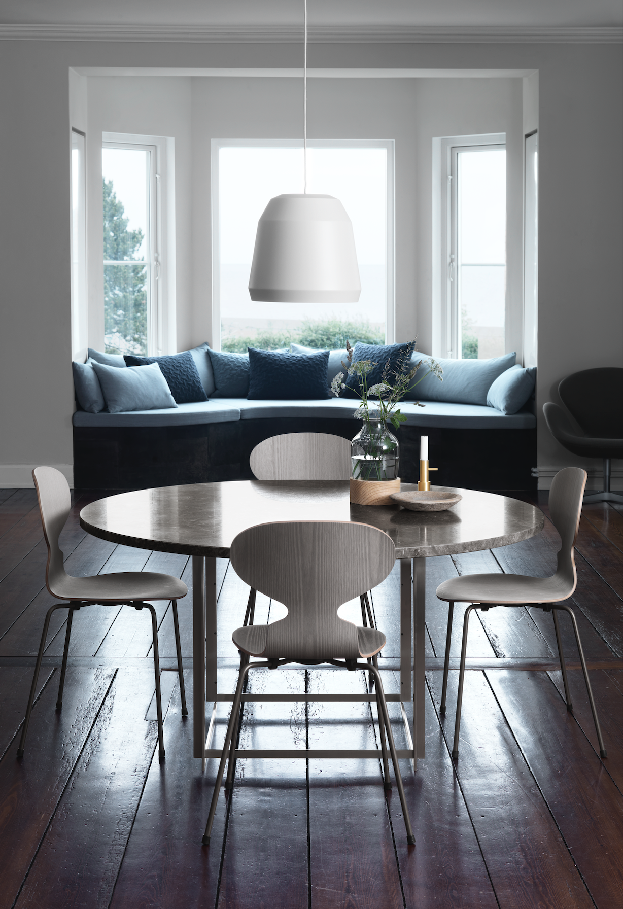 Fritz Hansen Design Stoelen.Mier Stoel Van Fritz Hansen Loncin Interieur A Beautiful Home