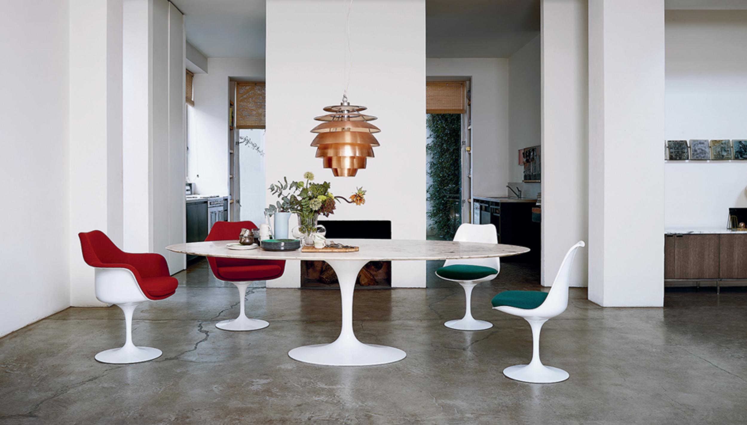 Knoll Promo Saarinen stoel tulip halingdale Loncin designmeubelwinkel interieur interieurwinkel Leuven Hasselt Brussels Bruxelles Mechelen Antwerpen Gent Knokke.png