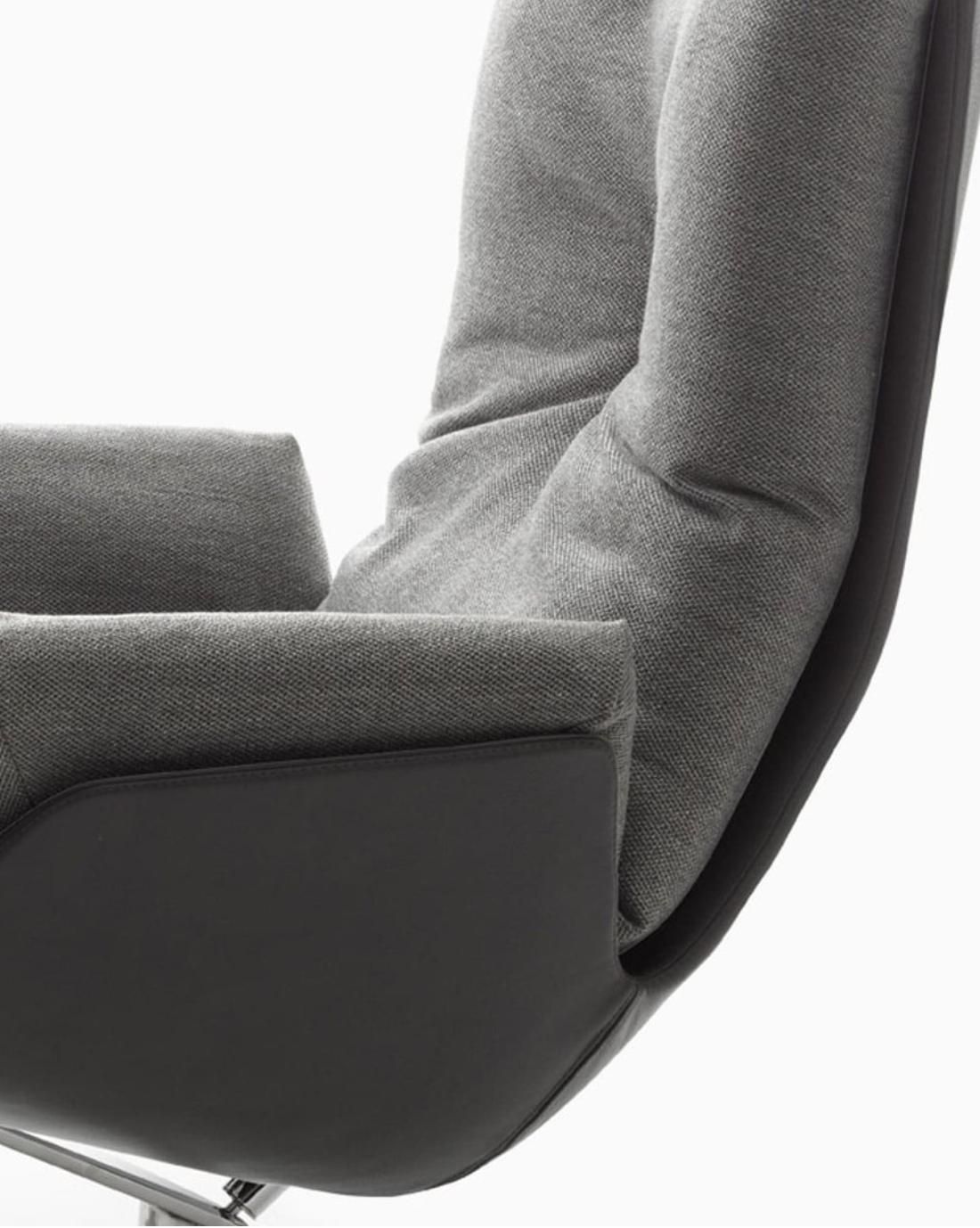 Cor Cordia Lounge fauteuil door Jehs en Laub  in onze toonzaal Zoutleeuw Hasselt Leuven Brussels Mechelen Limburg Wavre Liege Namur Loncin designmeubelwinkel officiële verdeler van COr zetelmerk leder.png