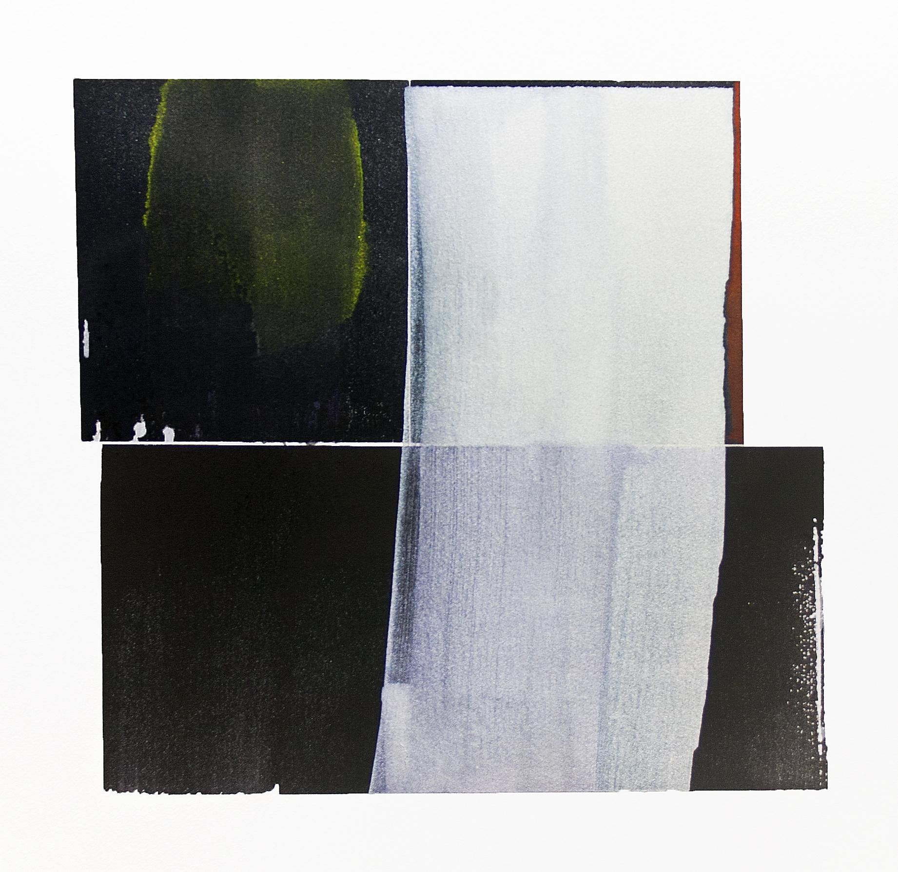 """aurora borealis---w/c on Fabriano Artistico---10.75"""" x 10.25"""""""