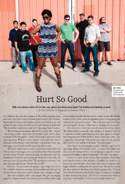 Hurt So Good: The Suffers  Houston magazine - July 2012