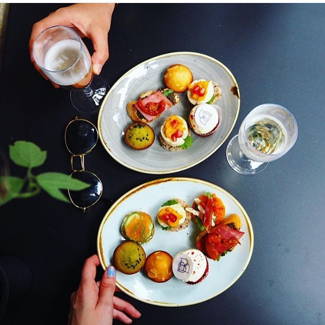 Can't believe it's been just over a month since our Upper Street branch opened! Our launch party came together at the very last second - phew! These are some of the canapés we served photographed by the lovely @lorileysesh 😀🙌🏻💕